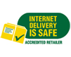 Internet delivery is safe