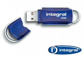 4GB Integral Hi-Speed USB 2.0 Flash Drive