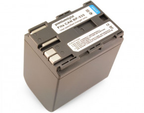 Canon BP-535 Replacement Camcorder Battery