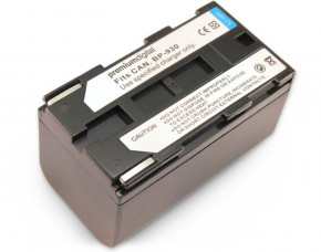 Standard Canon V75Hi Replacement Camcorder Battery