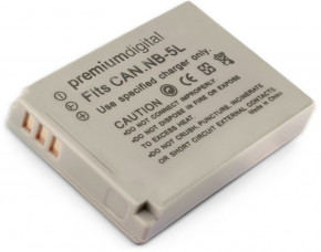 Canon PowerShot SD790 IS Replacement Camera Battery