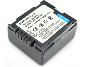 Small Hitachi DZ-HS300A Replacement Battery