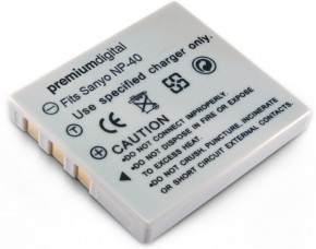 Sanyo NP-40 Replacement Camera Battery