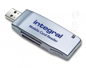 Integral Mobile Card Reader / Writer (16 in 1)