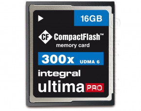 16GB Integral UltimaPro CompactFlash Card (300x)