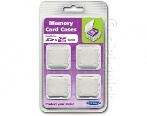 Integral SD Memory Card Holders (Pack of 4)