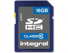 16GB Integral SDHC Memory Card (Class 10)