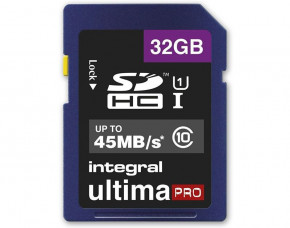 32GB Integral UltimaProX SDHC Memory Card