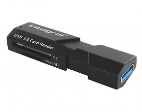Integral SuperSpeed Memory Card Reader (USB 3.0)