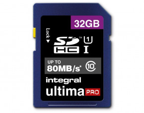 32GB Integral UltimaPro SDHC Memory Card (Class 10)