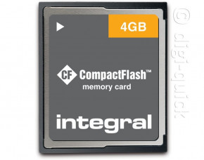 4GB Integral CompactFlash Card