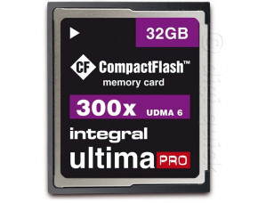 32GB Integral UltimaPro CompactFlash Card (300x)
