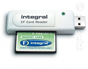 Integral CompactFlash Card Reader