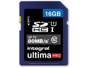 16GB Integral UltimaPro SDHC Memory Card (Class 10)