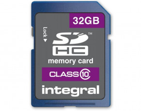 32GB Integral SDHC Memory Card (Class 10)