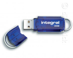 2GB Integral Hi-Speed USB Flash Drive