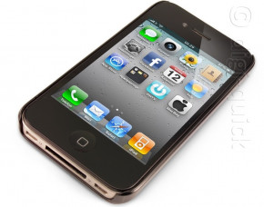 iPhone 4 Shell Case (Black)