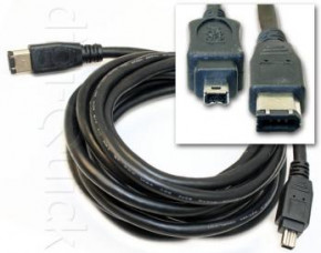 Canon GL2 DV Cable 6 pin