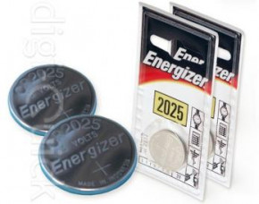 Energizer CR2025 Button Cell Battery - 2 Pack