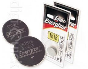Energizer CR1616 Button Cell Battery - 2 Pack