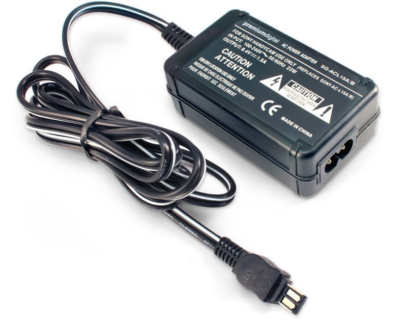 Sony CCD-TRV78E Replacement AC Power Adapter